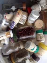 fiolki z lekami
